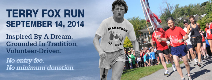 Join us at the Terry Fox Run! | The Brides\' Project